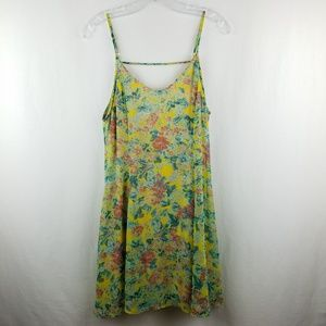 Urban Outfitters Lush | Floral print dress Medium